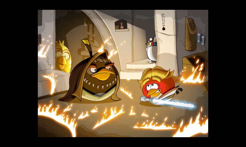 My Life Angry Birds Star Wars Walkthrough Iii Luke S