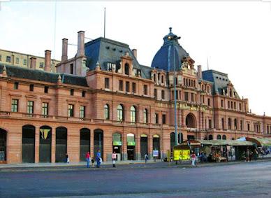 Estación Constitución en Buenos Aires