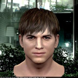 3d model Ashton Kutcher V1 26