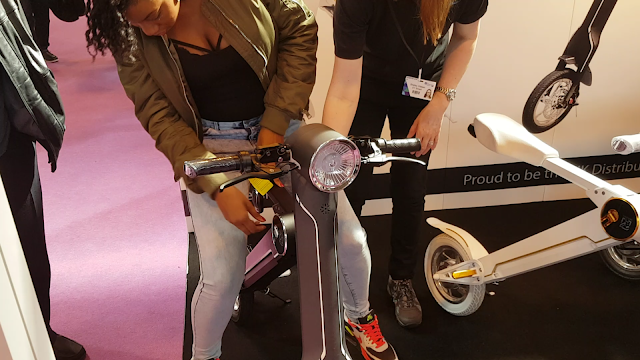 the gadget show live 2016 review, etscooter