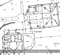 The tunnel can be seen on this plan of Boggo Road Gaol, Brisbane.