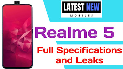 Realme 5 full Specifications