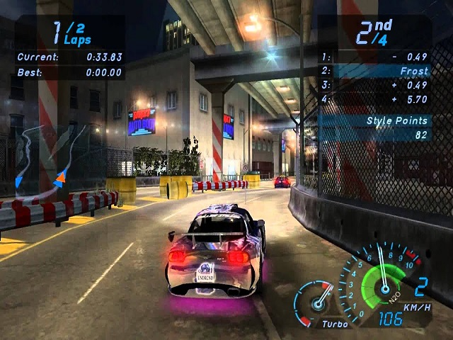 Need for Speed Underground EA Games Free Download With Crack