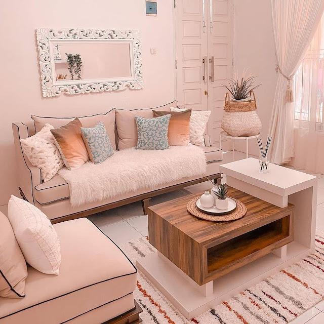 Inspirasi Model Sofa Minimalis tapi Mewah untuk Ruang Tamu Kecil Terbaru