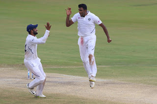 Ravichandran Ashwin 7-145 vs South Africa Highlights