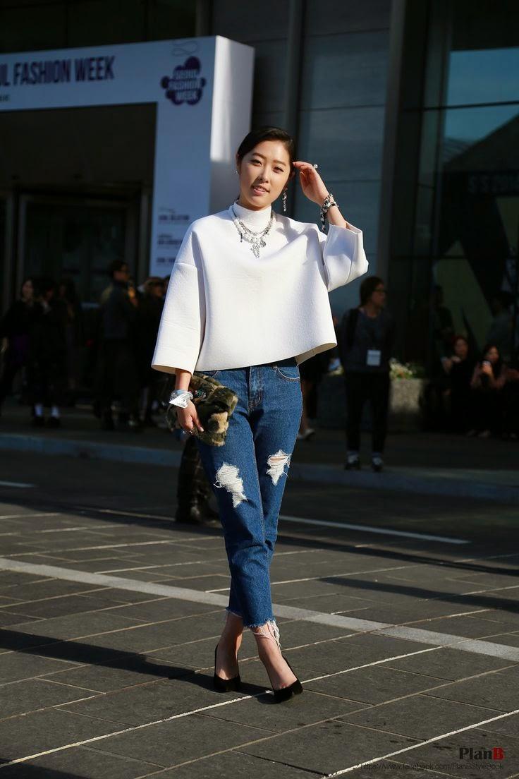 Korean Street Fashion: Elegant Princess Long Sleeve ... |Korean Street Fashion 2014 For Girls