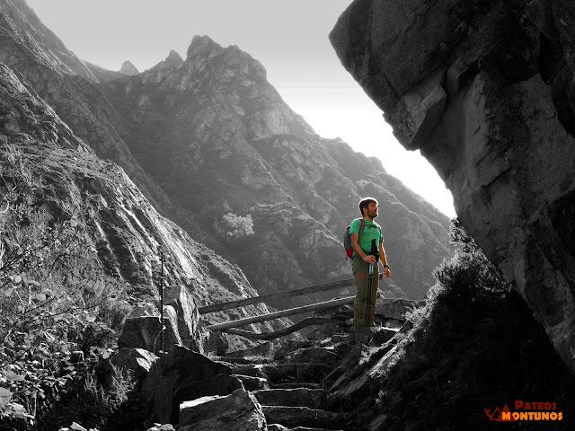 Desfiladero de Los Arrudos: Llastra los Terrales