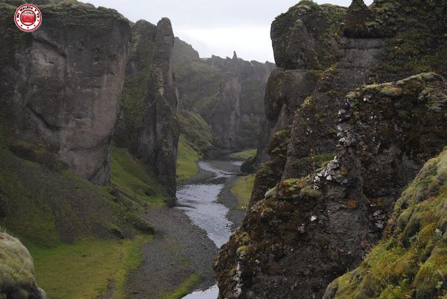 Garganta de Fjaðrárglúfur, Islandia
