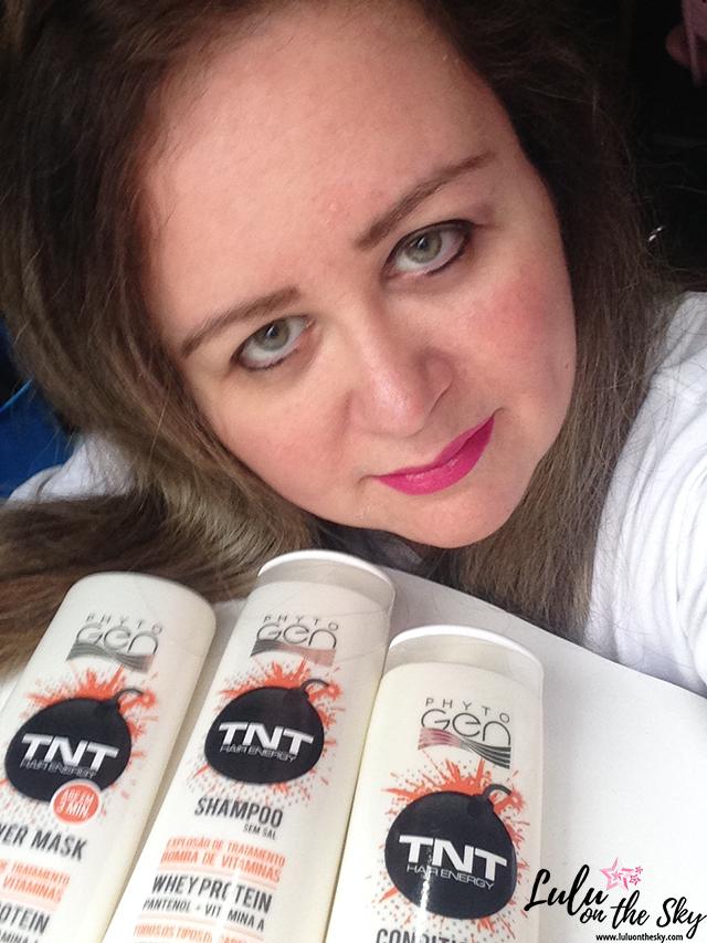 Kit Phytogen TNT Hair Energy Kert: shampoo, máscara e condicionador.