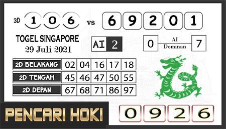 Pred Pencari Hoki Group Forum SGP45 Kamis 29-juli-2021