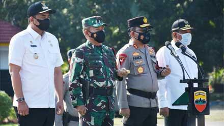 Apel Gelar Pasukan Satgas Pam VVIP Kunker Presiden RI ke Sumut