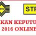 Semakan Keputusan STPM 2016 Online Dan SMS