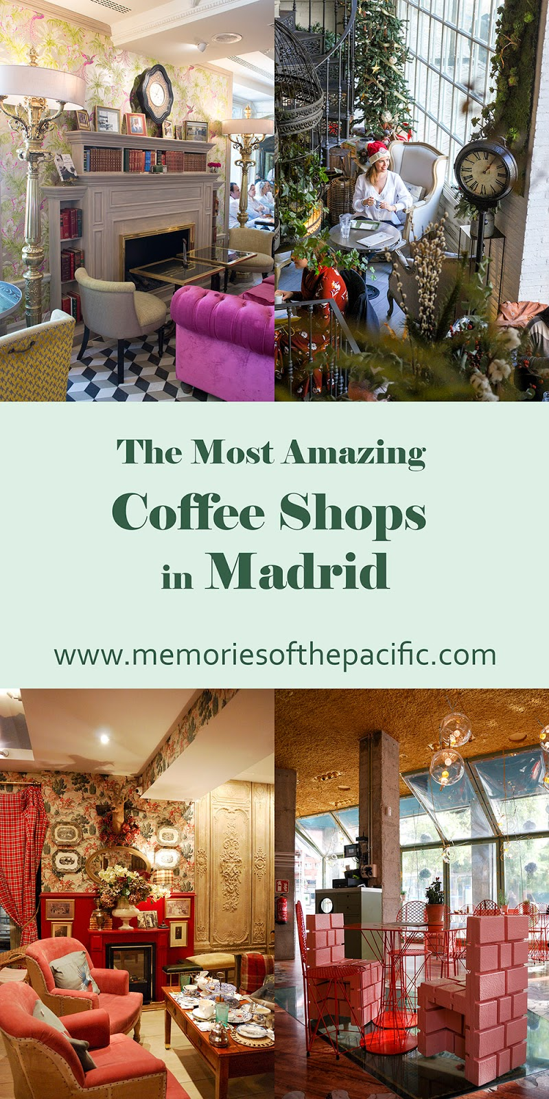 unique amazing beautiful best coffee shops madrid spain cafeteria