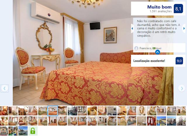 Hotel Al Vagon para ficar em Veneza