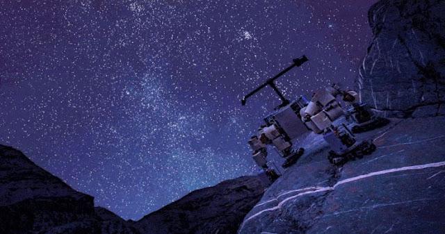 NASA Membangun Robot Panjat Tebing