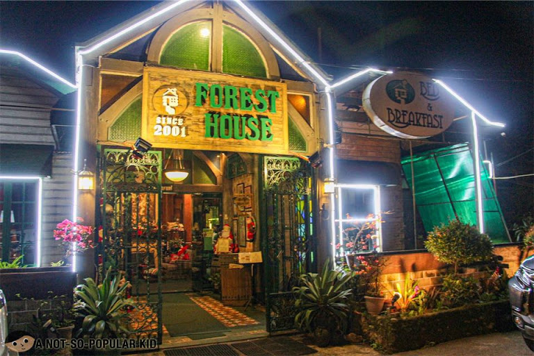 Forrest House Restaurant in Baguio City