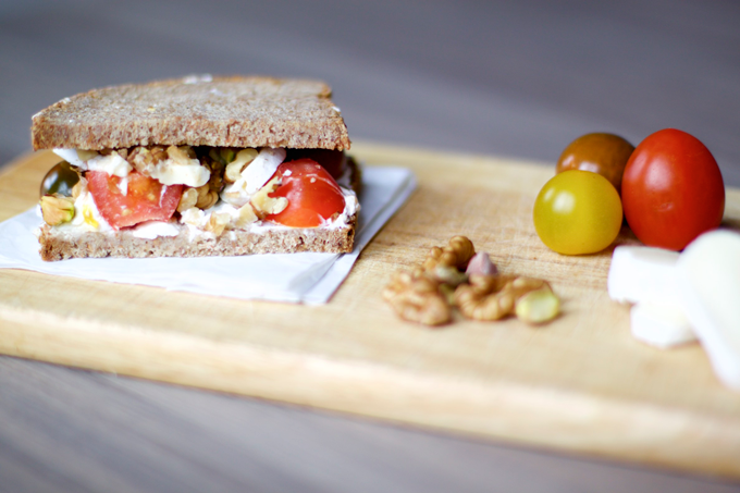 Receta sándwich 5 para conquistar por el estómago