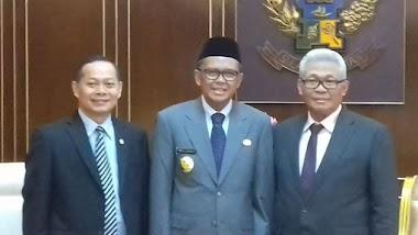 Hadiri Pelantikan Plt Sekda Sulsel, Irwan: Pilihan Gubernur Tepat