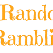 Random Ramblings: My Random Book Thoughts 1st year Anniversary!  ~ My Random Book Thoughts