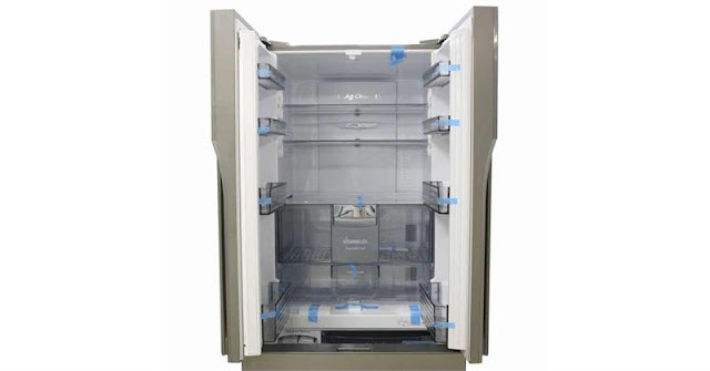Tủ lạnh 3 cánh Inverter Panasonic NR-CY558GSV2 491 Lít