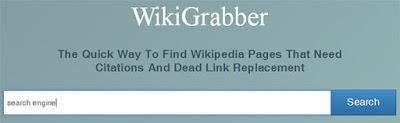 Wiki Grabber Tool