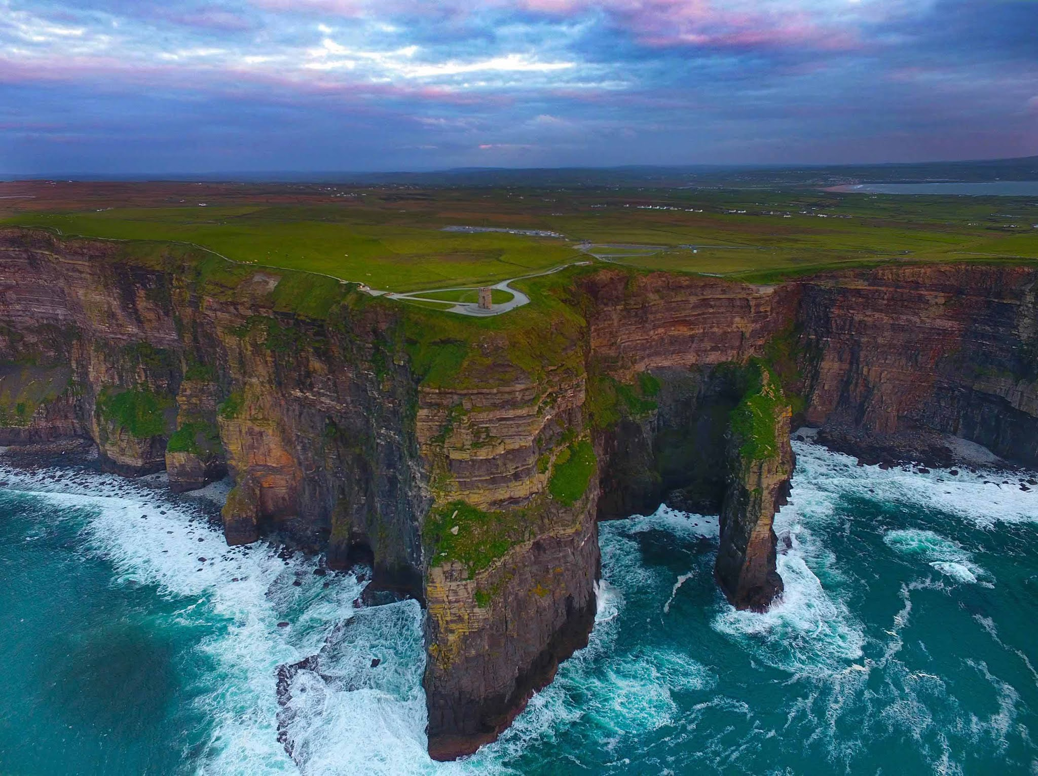 Утесы Мохер в Ирландии