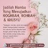 ROGHBAH, ROHBAH & KHUSYU'
