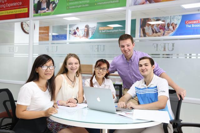 Sinh viên ngành Kinh tế đối ngoại