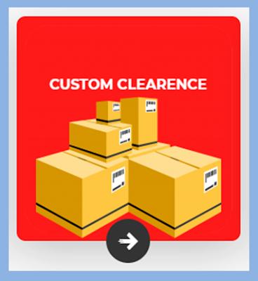 Custom Clearence import cina