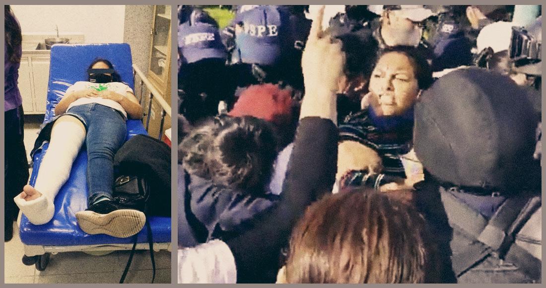Por orden de Diego Sinhue, Policías de Guanajuato arrestan, golpean y fracturan a familias de víctimas de Violencia