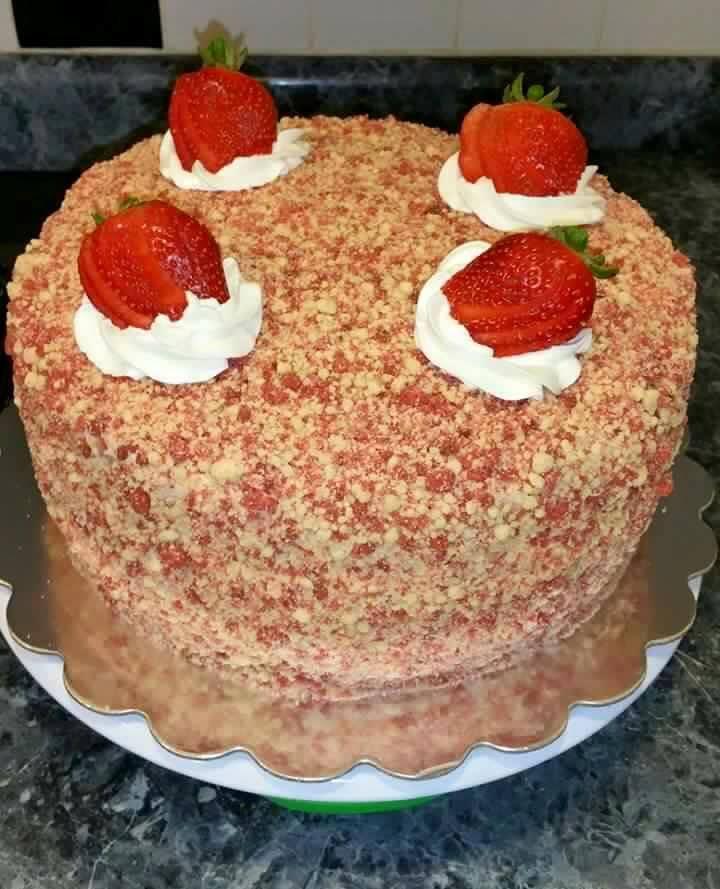 Strawberry Cheesecake Recipe: Strawberry Shortcake Cheesecake