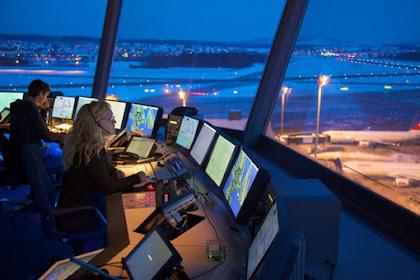 Apa saja Tugas Pemandu Lalu Lintas Udara (ATC) Air Traffic Control Tower?