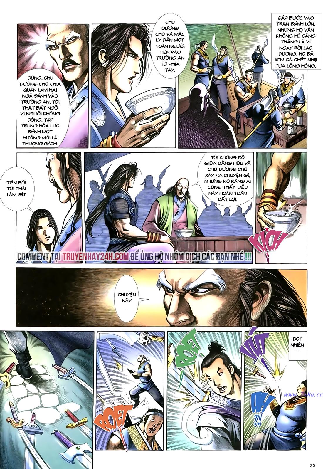 Anh hùng vô lệ Chap 18 trang 31