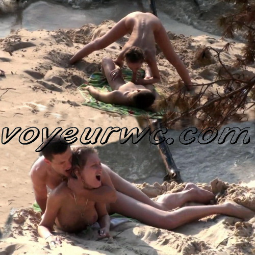 BeachHunters Sex 22642-22714 (Nude beach sex with nudist couples filmed on voyeur cam)