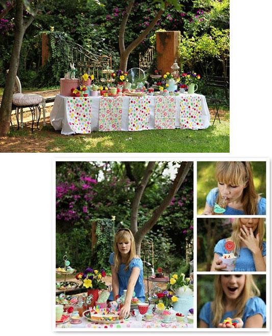 Lemot: Eye Candy Alert! Alice In Wonderland Wedding