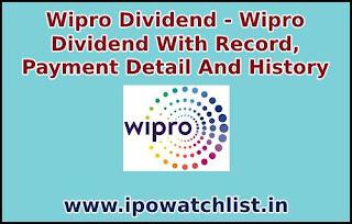 wipro-dividend-detail
