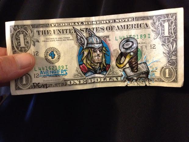 Money Art Painting