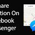 Cara share lokasi Langsung anda di Facebook Messenger dengan Teman