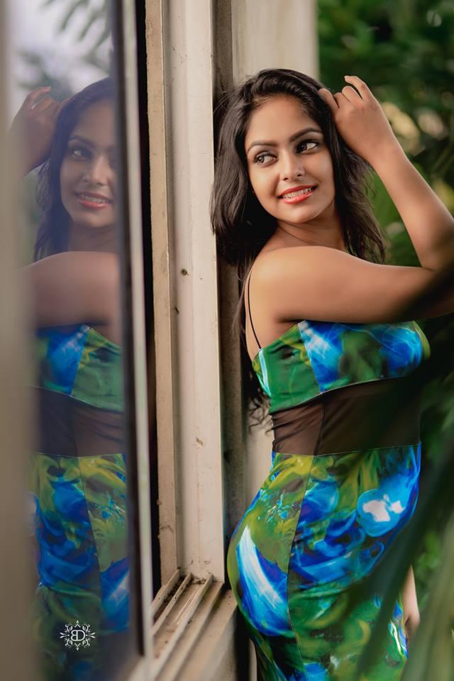 Geethma Bandara Hot Outdoor Photos