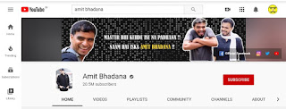 No.2 Youtube Channel of india