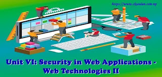 Security in Web Applications - Web Technologies II