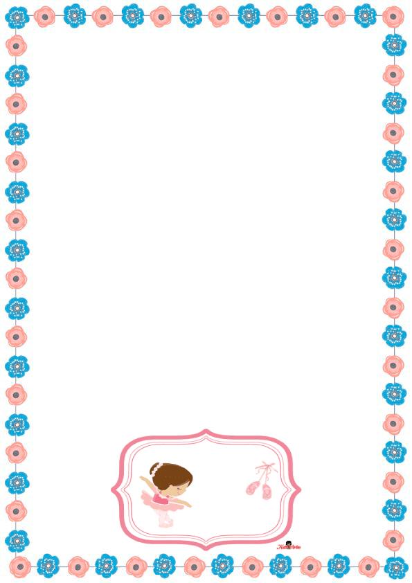 caratulas para cuadernos para niñas de primaria de rosas