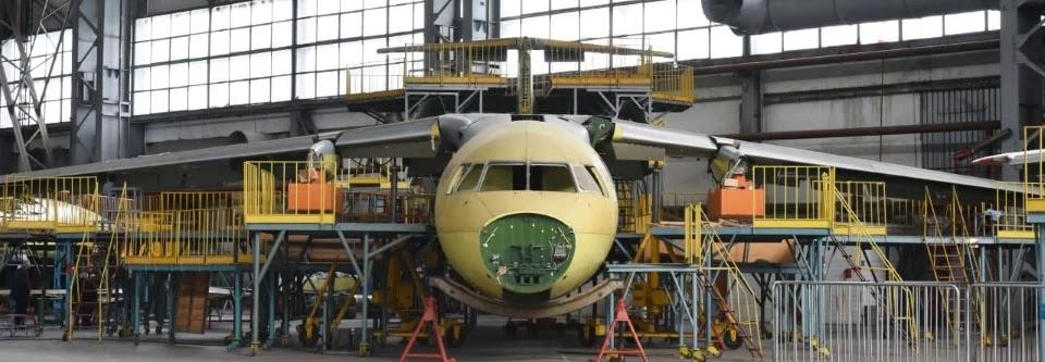 Фюзеляж першого Ан-178 для ЗСУ складуть до кінця травня