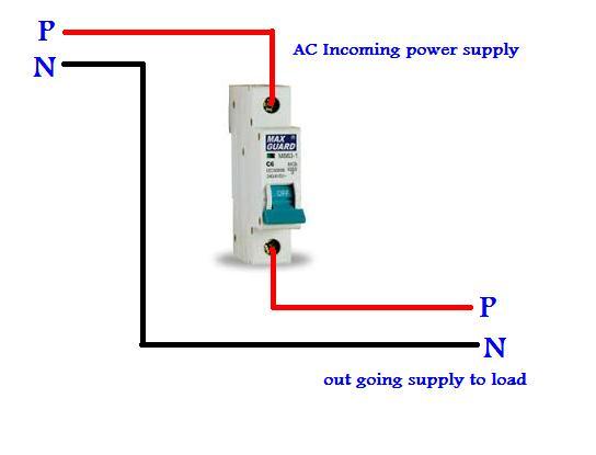 Single Pole MCB Wiring In UrduHindi  Electrical Tutorials