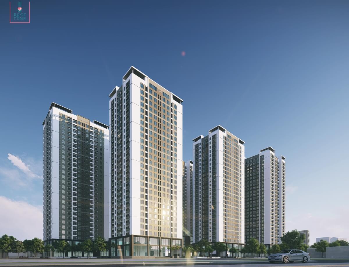 Rose Town - Dự án đáng mua nhất quận Hoàng Mai