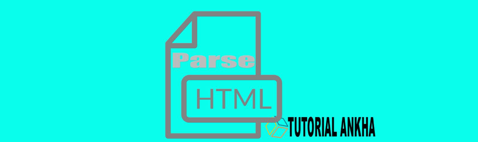 Cara Parse HTML For Bloger XML Templates