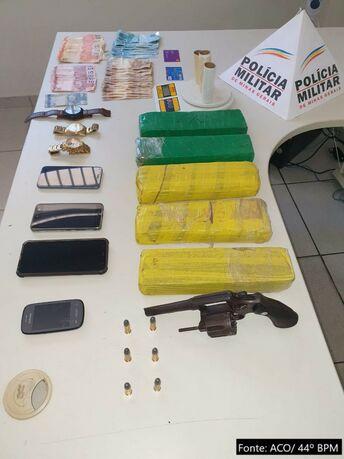 Polícia Militar de Jacinto desarticula quadrilha de tráfico de drogas