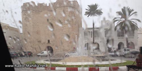كميات الأمطار المسجلة في ولاية المهدية