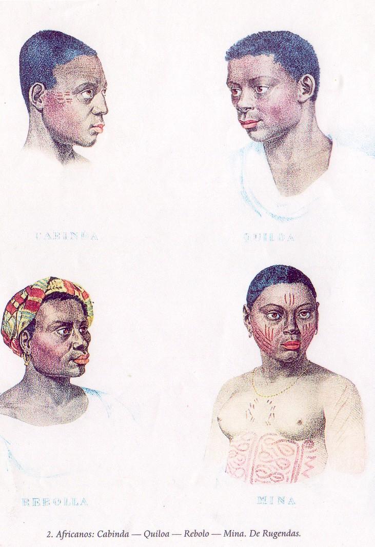 tatuagem de escravos