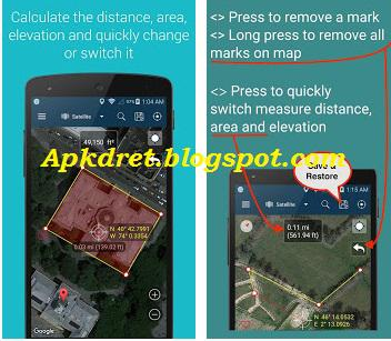 Measure Distance Map 1.40 Premium apk